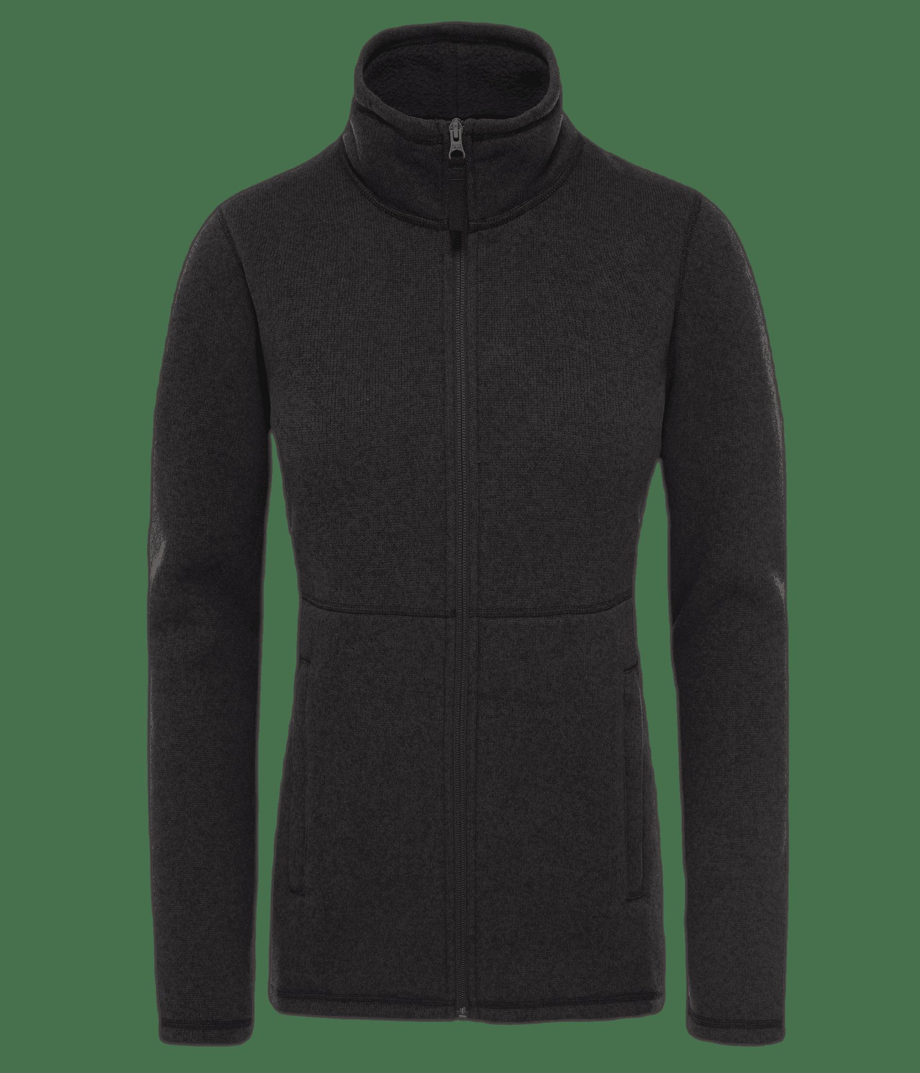 Fl sweater f/z crescent