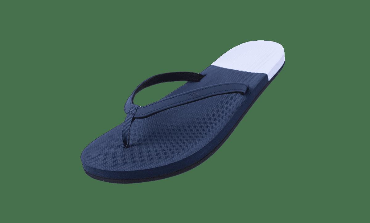 Essntls flip flop color block