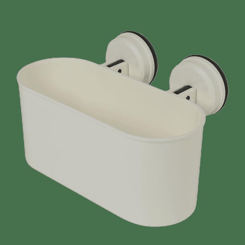 Ovale houder met zuignappen