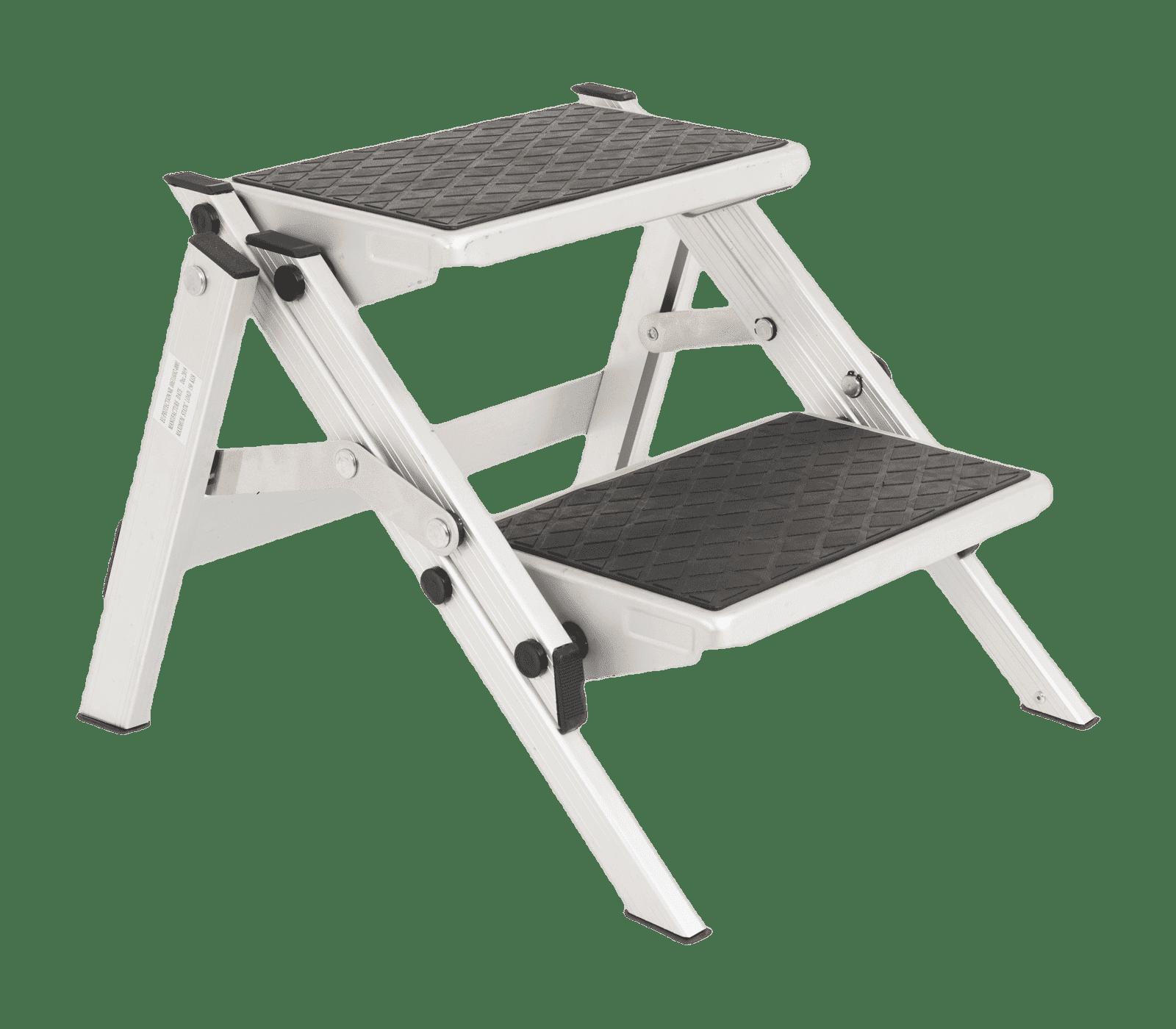 Foldable dubbele opstap aluminium