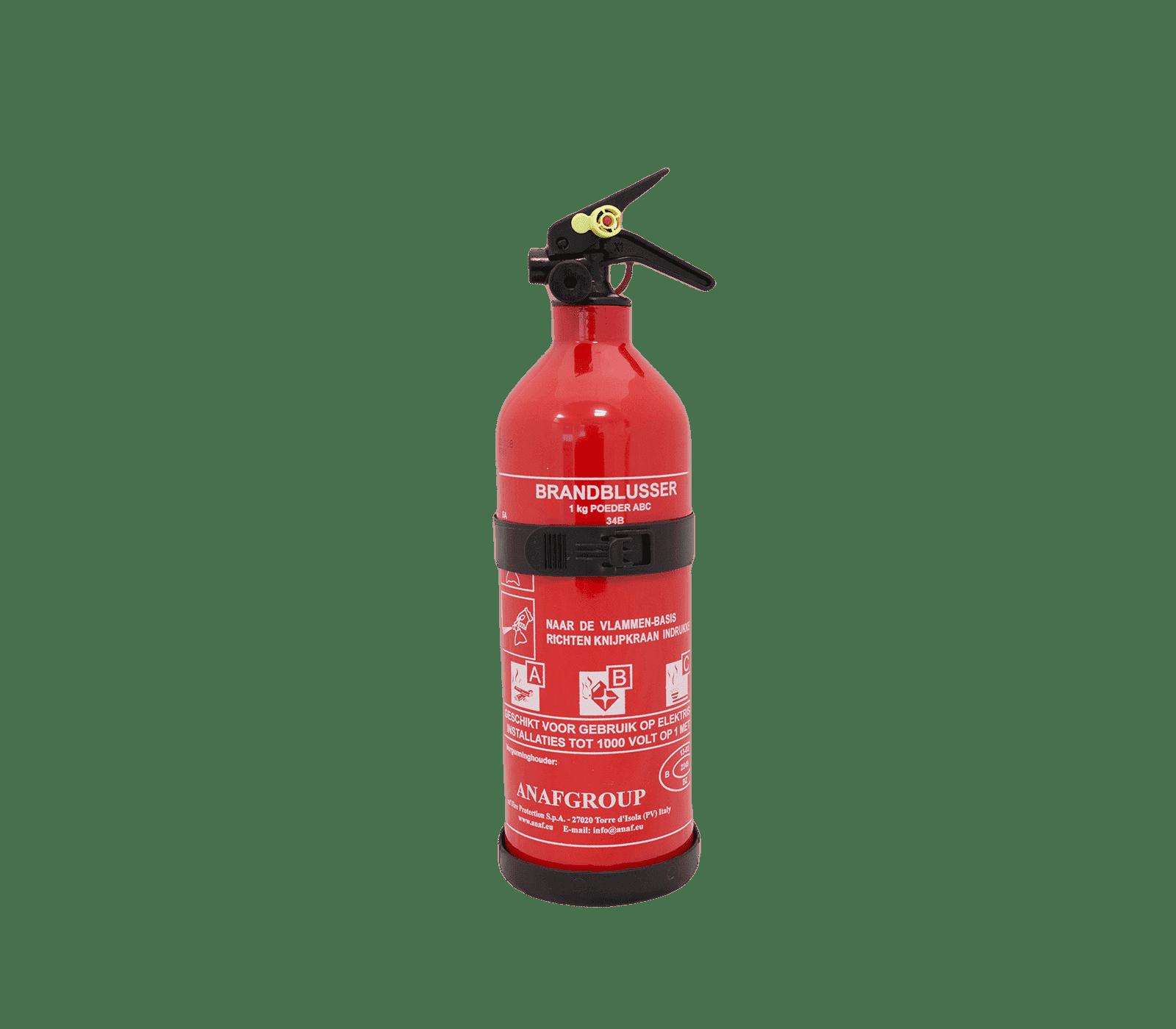 Poeder brandblusser