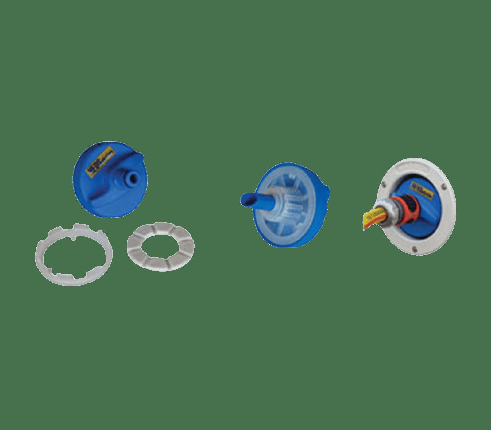 Waterconnector universeel