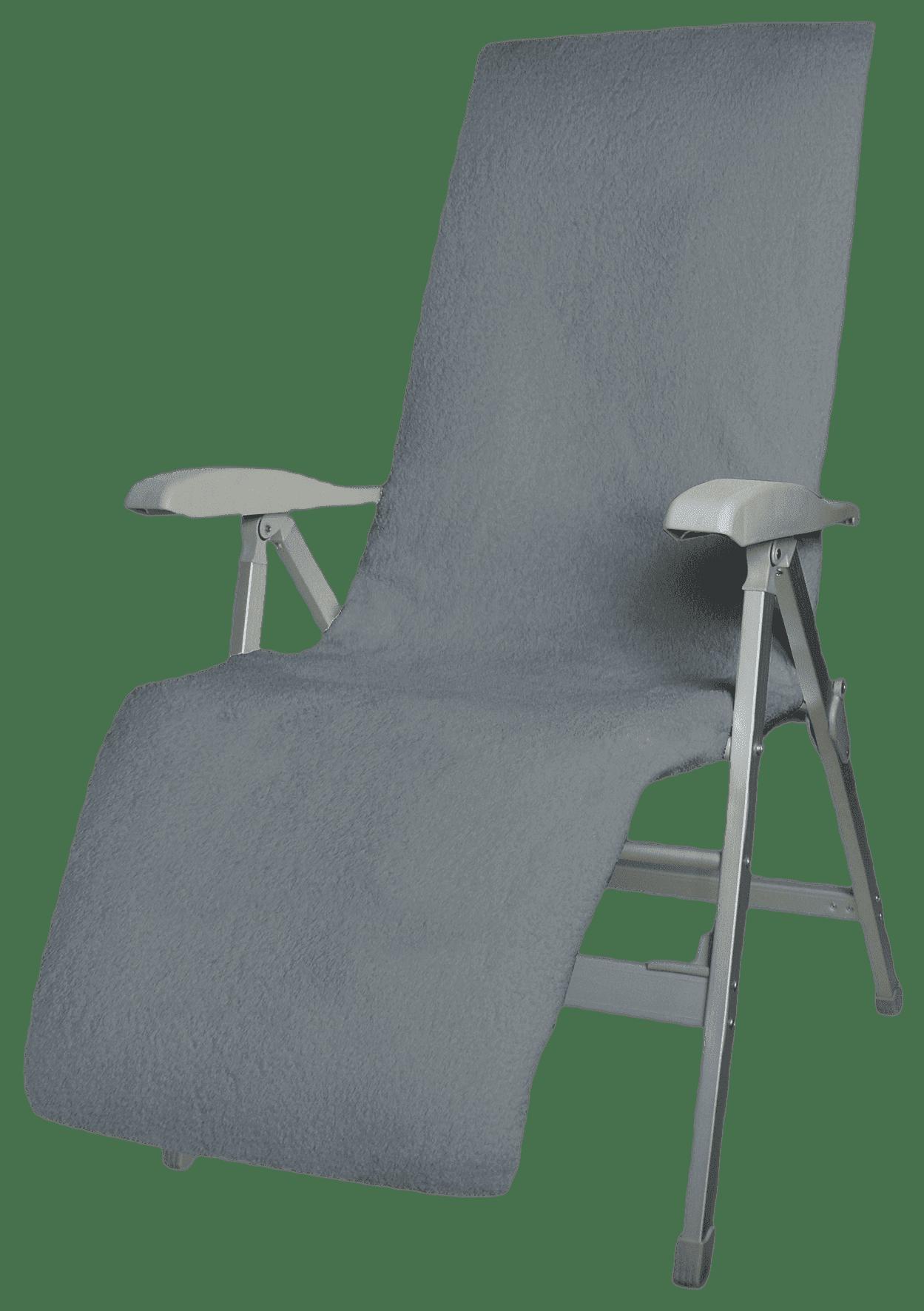 Badstof stoelhoes relax grey
