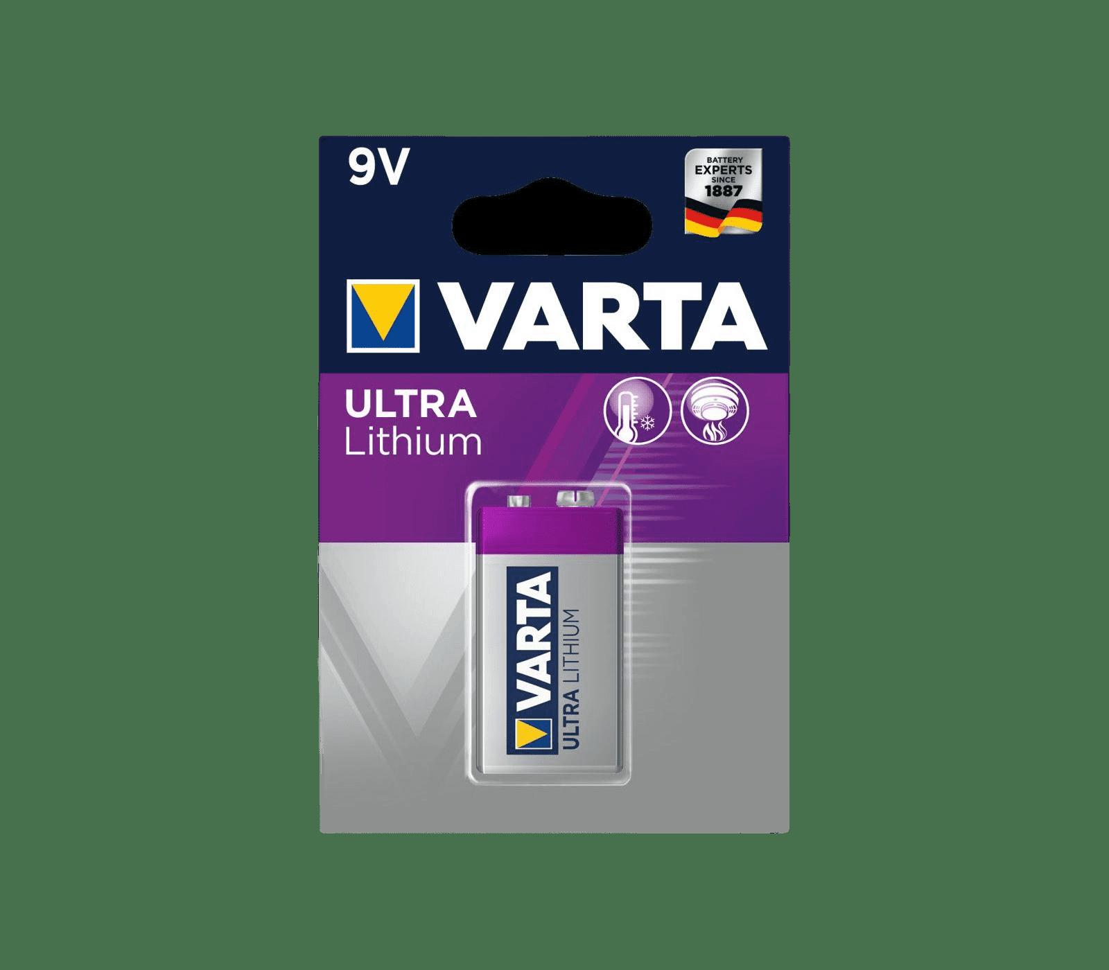 Ultra lithium 9v