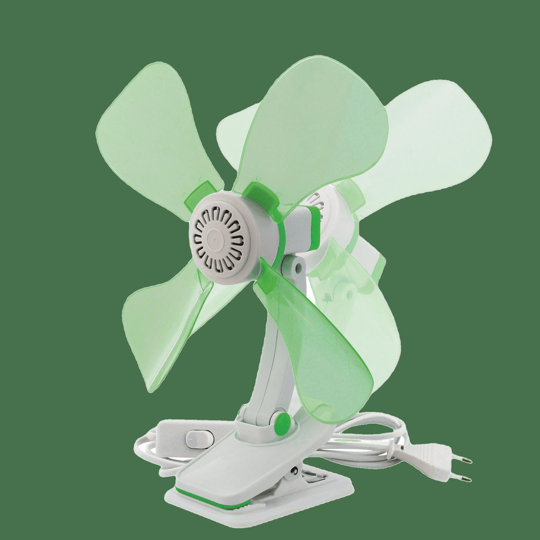 Tafel ventilator met klem