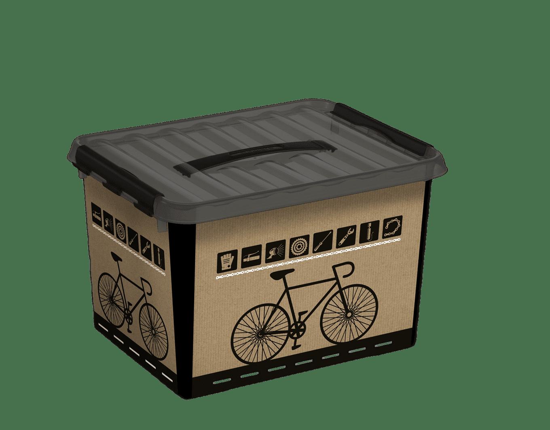 Fiets box 22l inzet