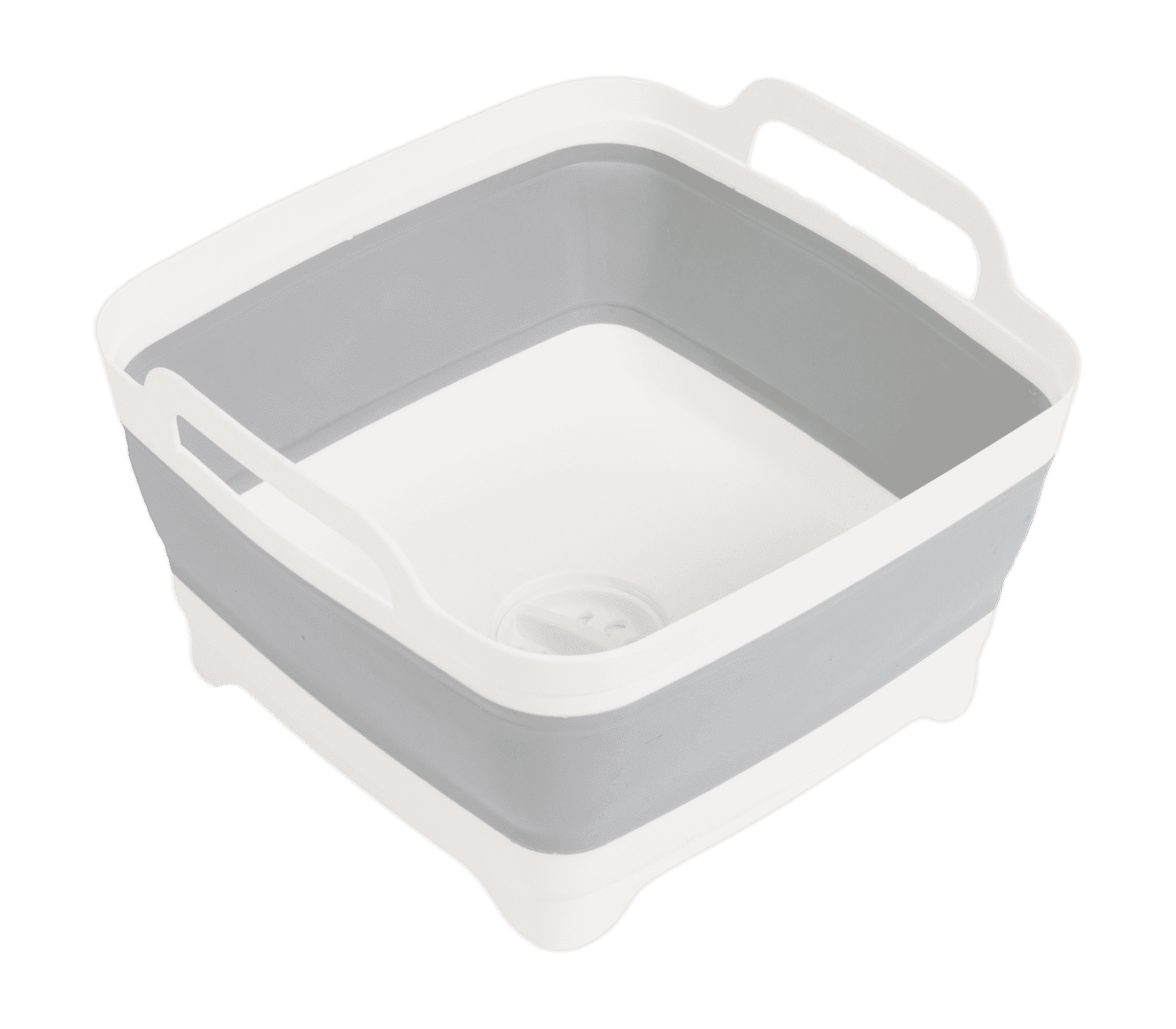 Foldable afwasbak met stop