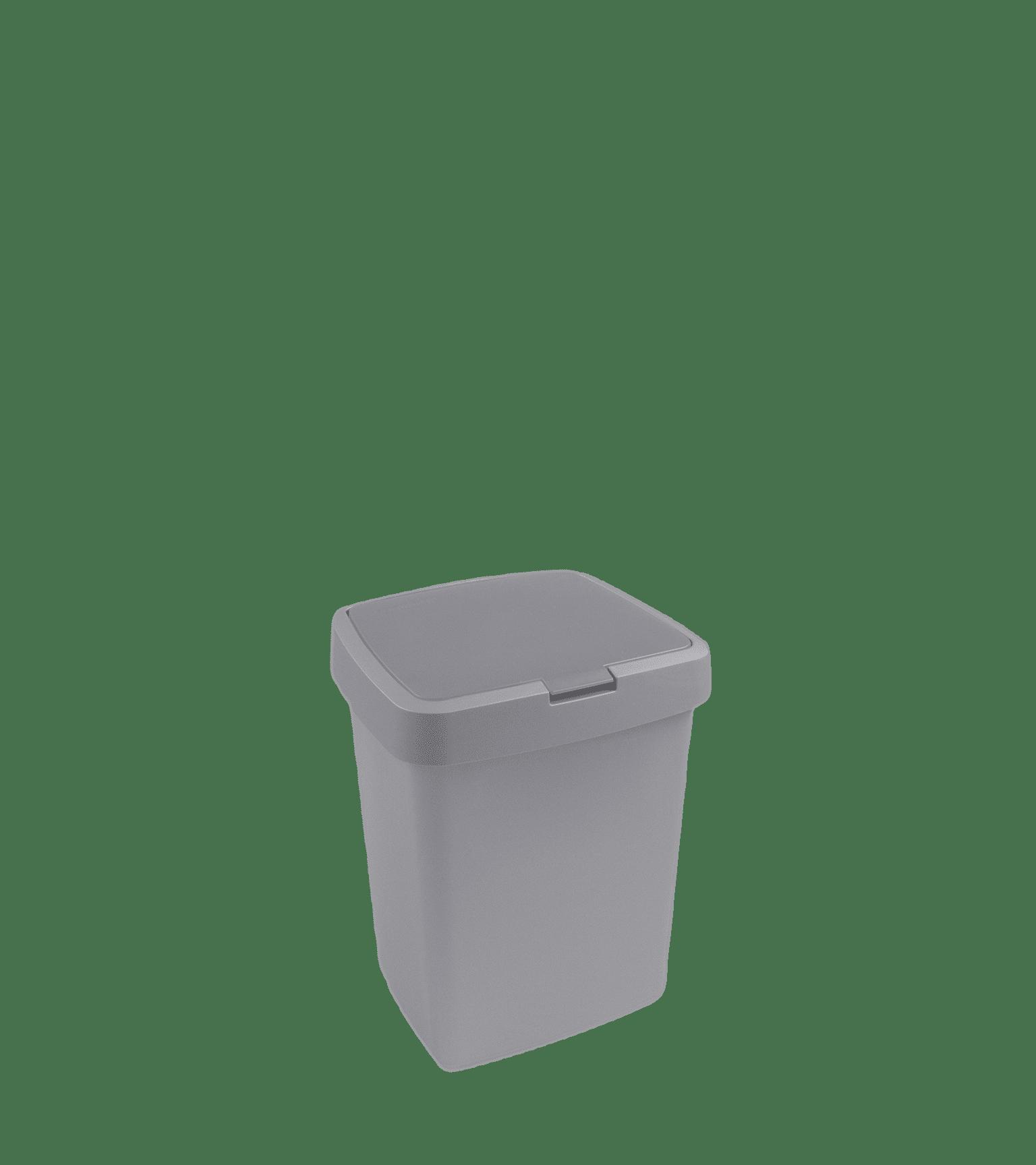 Delta afvalbak 10l klep