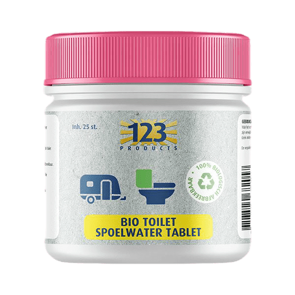 Bio toilet spoelwater 25st.