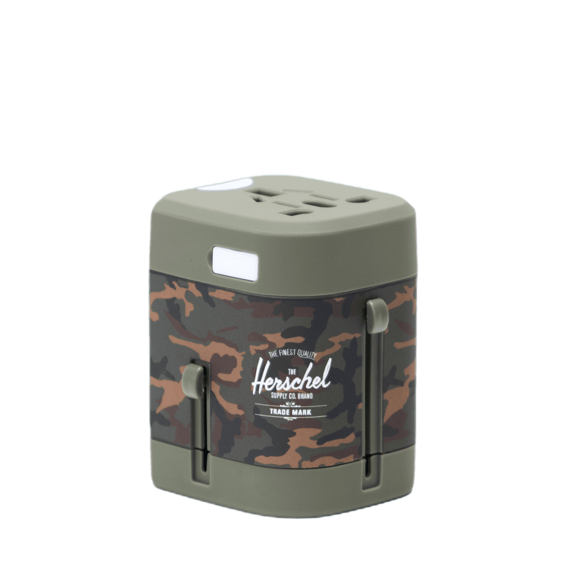 Travel adapter woodland camo
