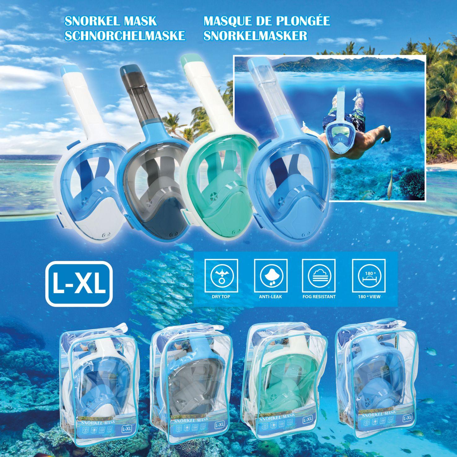 Snorkel mask l-xl