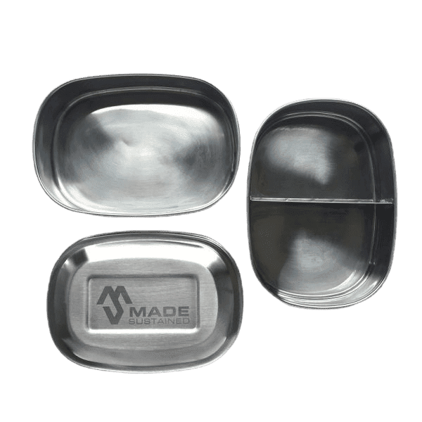 Double feeder lunchbox