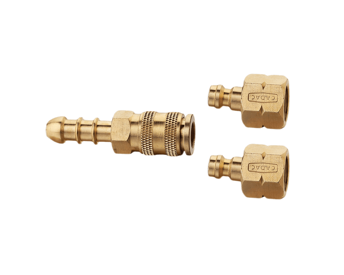 Quick release coupling 2 conn