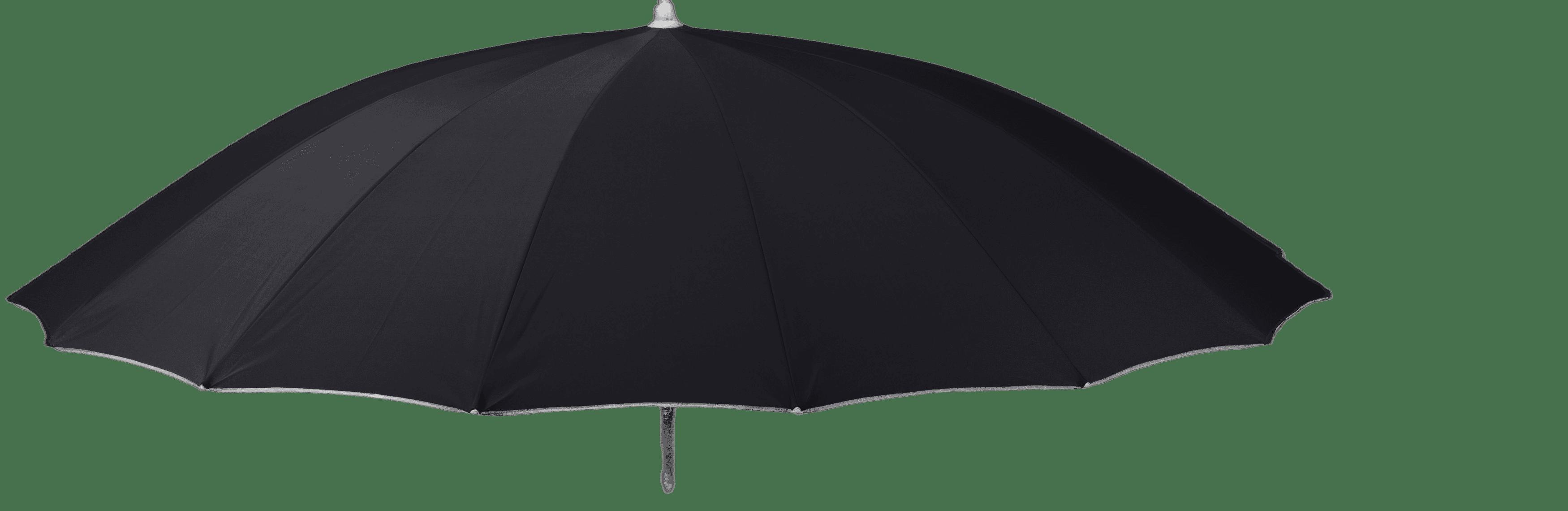Parasol shanghai zwart