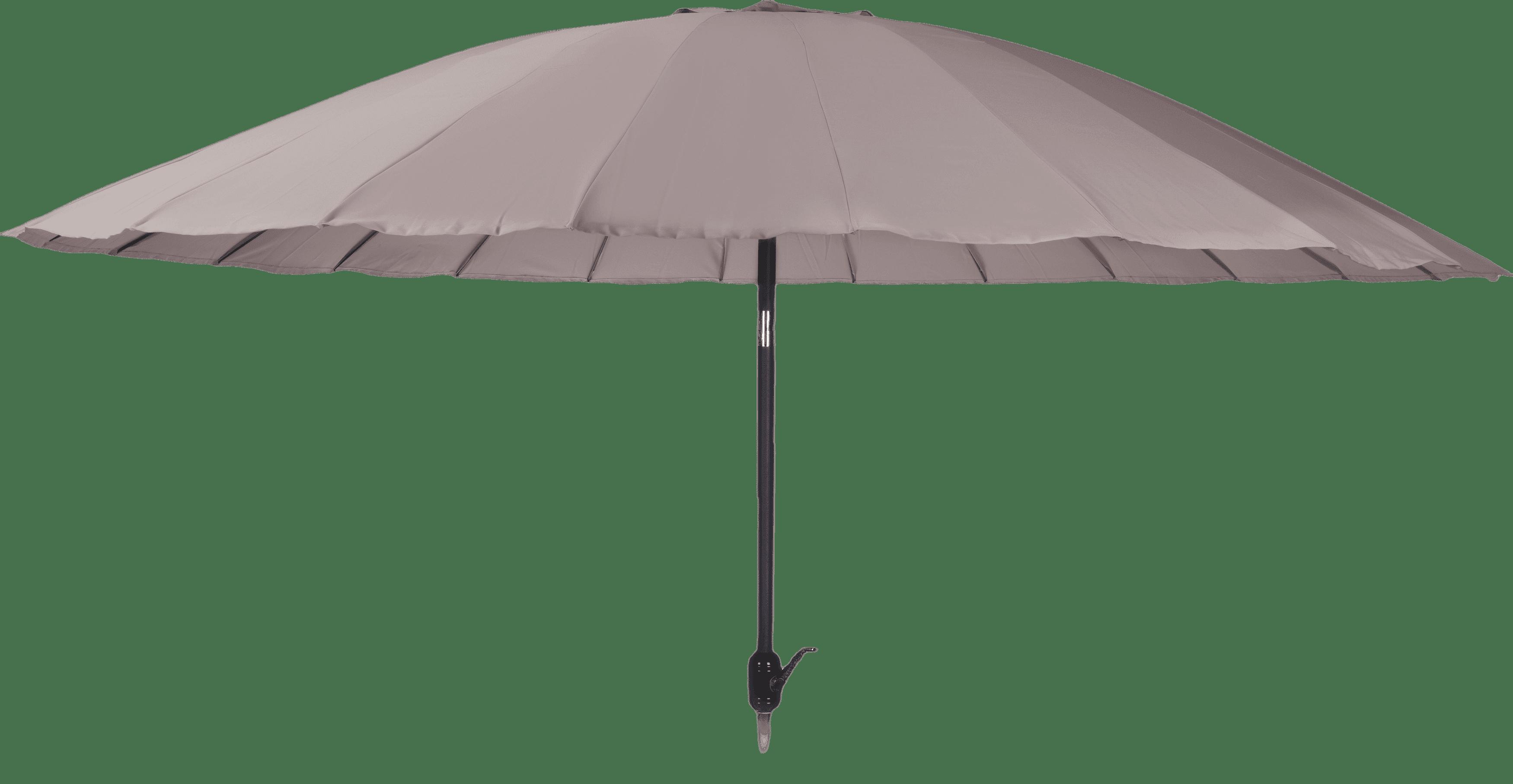 Parasol shanghai 325cm taupe