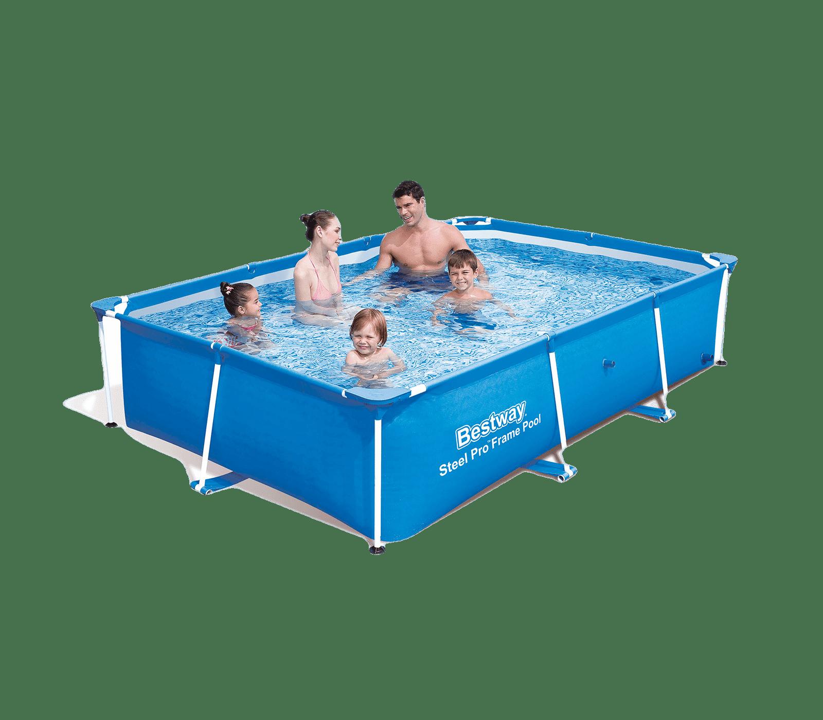 Zwembad passaat frame rechthoek