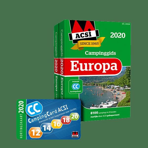 Campinggids europa 2020