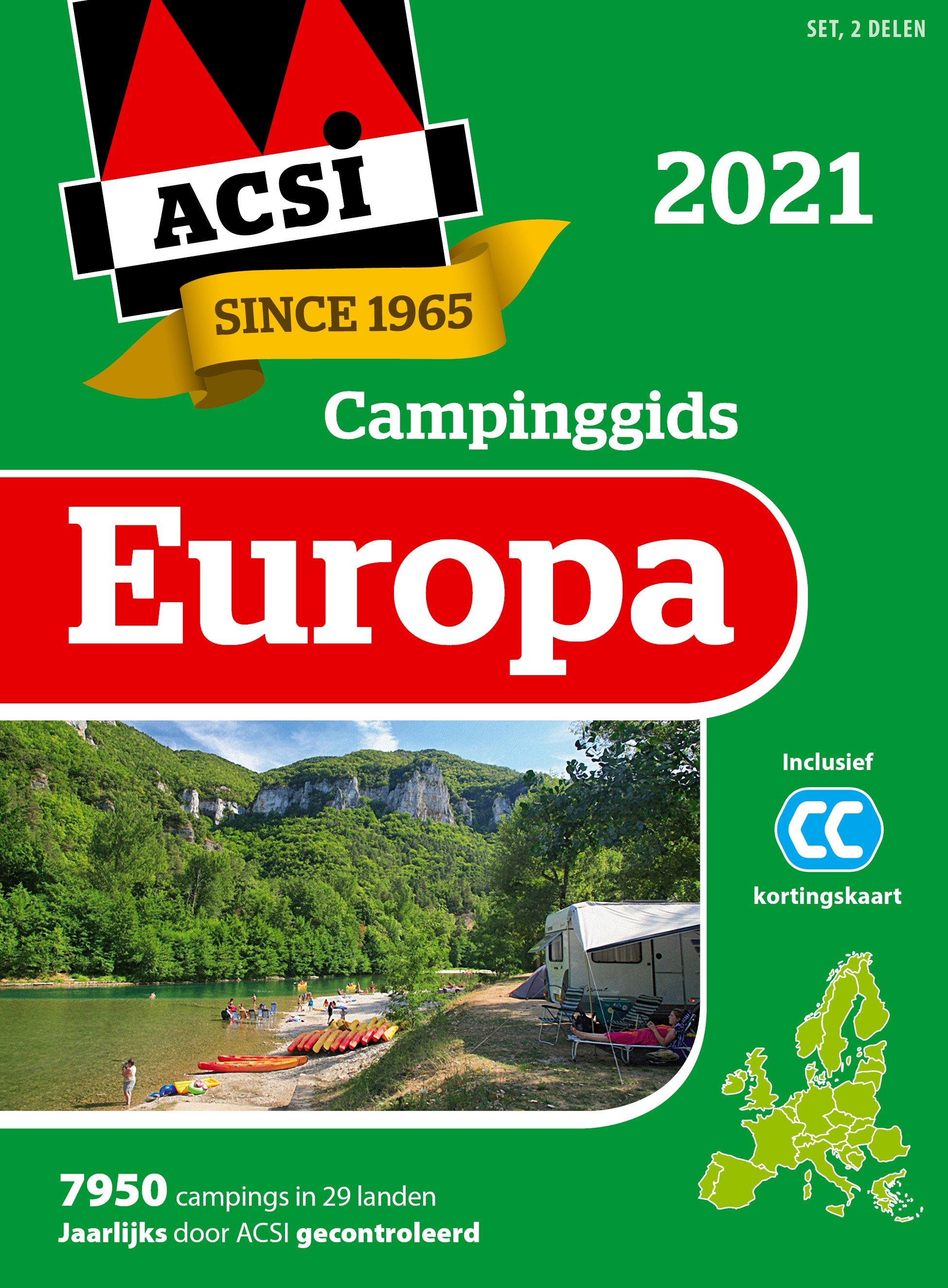 Campinggids europa 2021