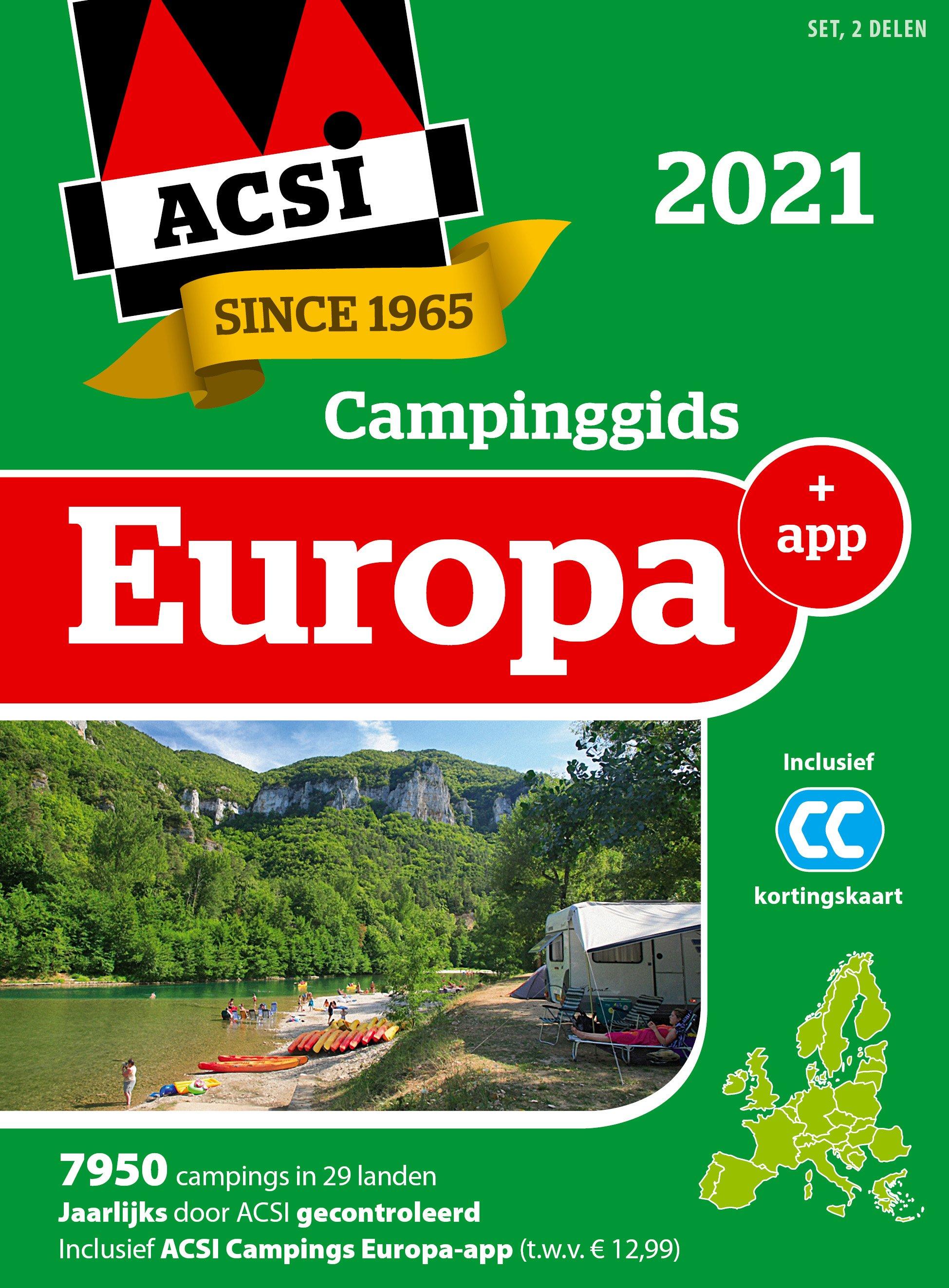 Campinggids europa 2021 + app
