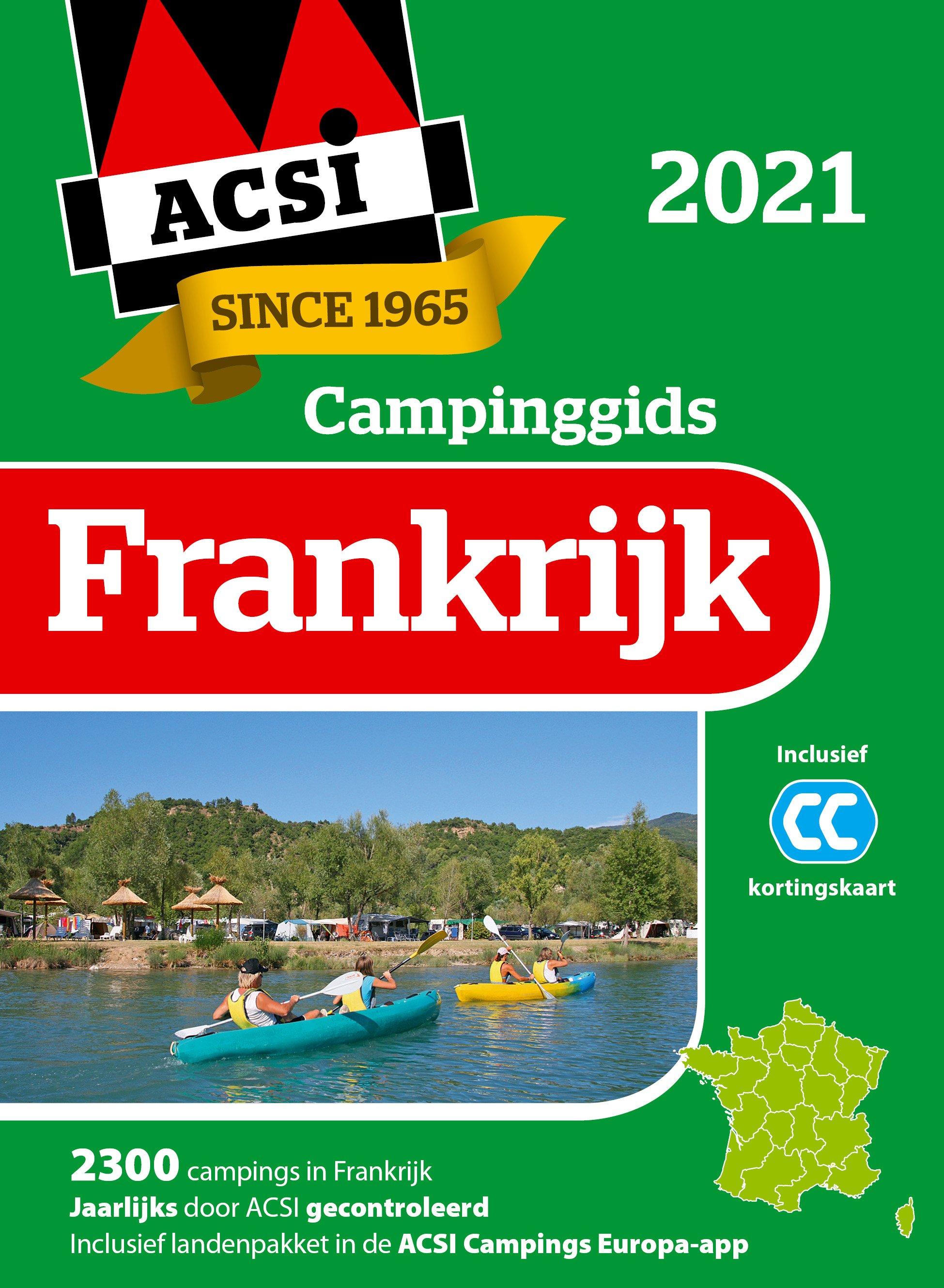 Campinggids frankrijk 2021 + app