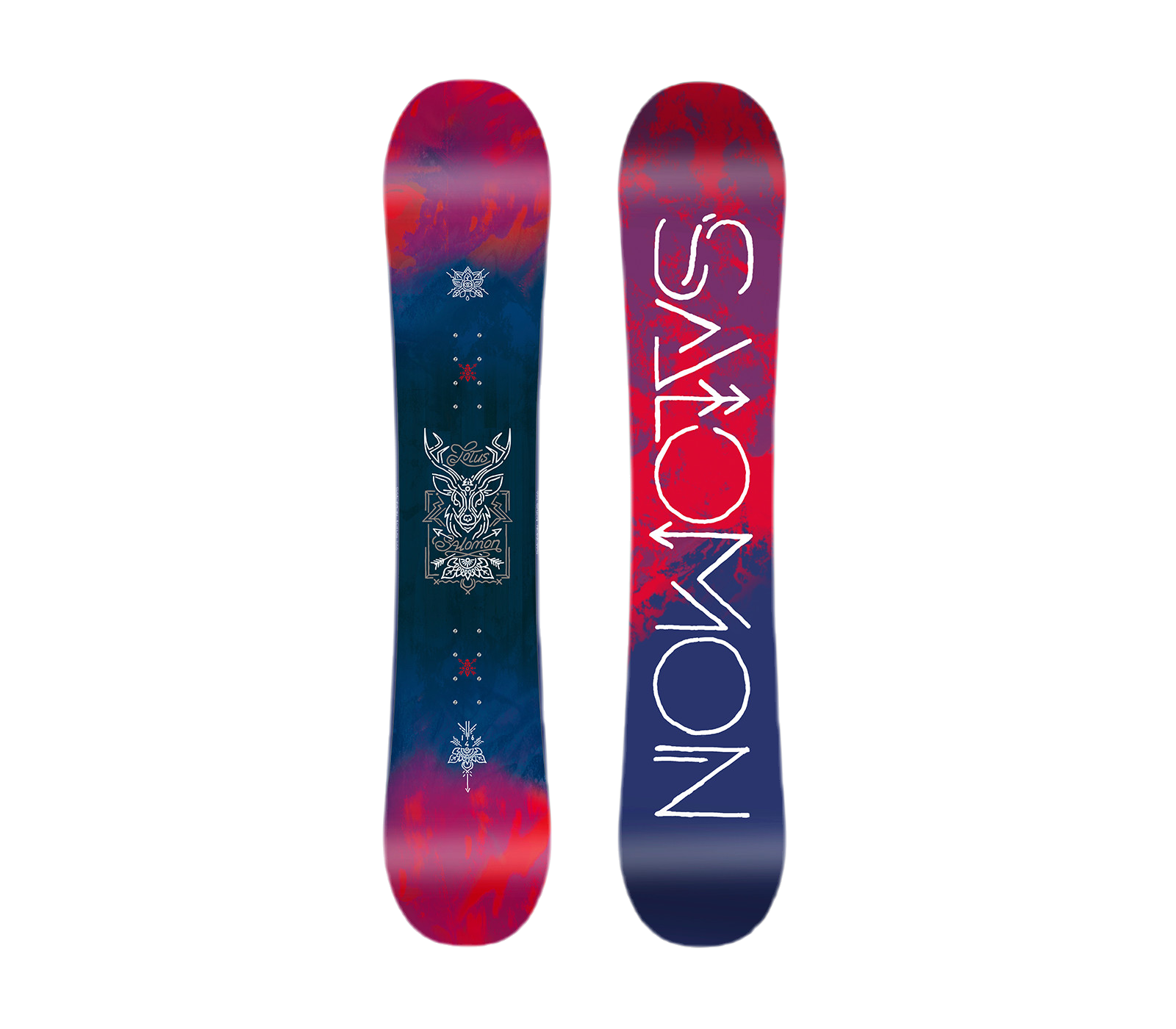 Snowboard lotus 146 v+rythm black