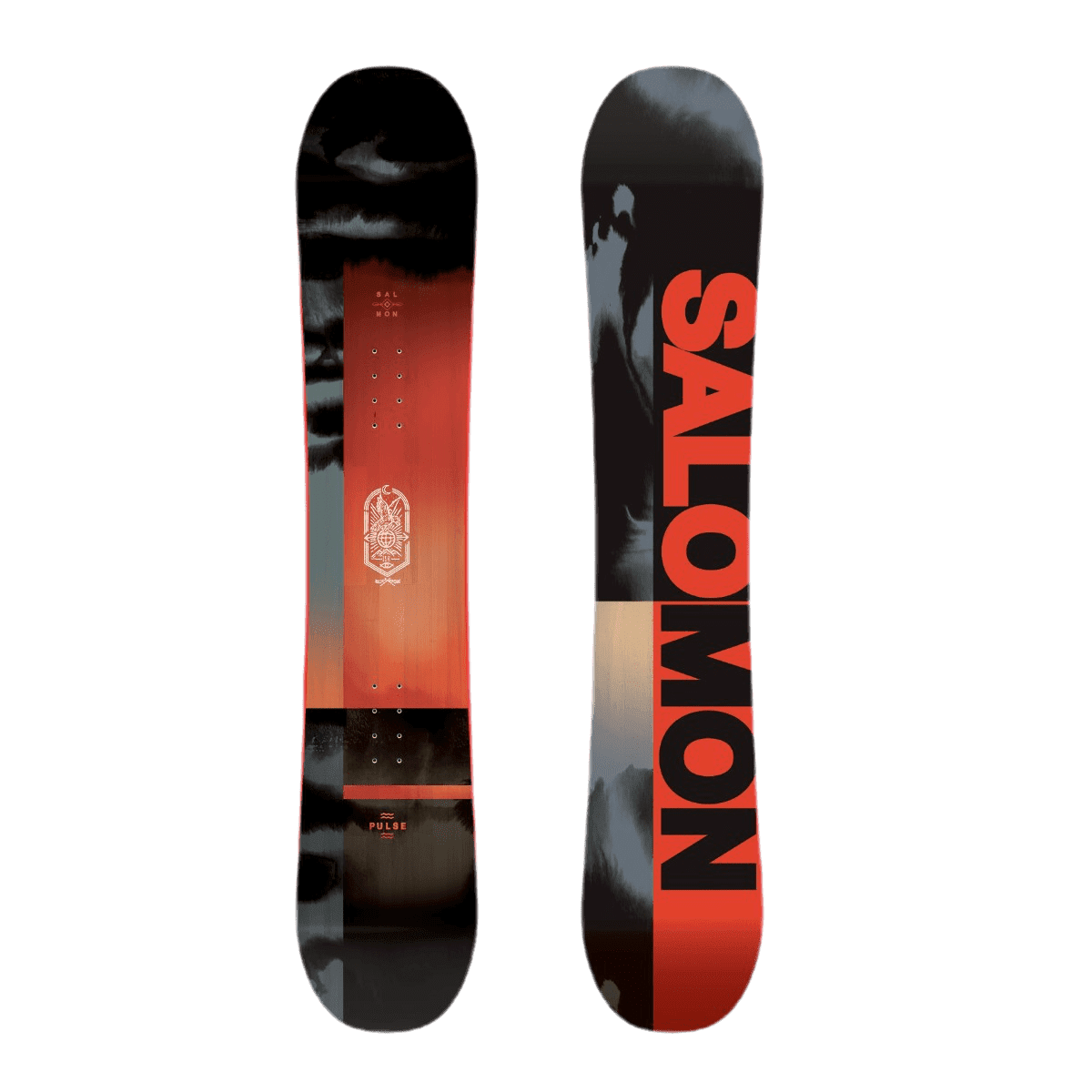 Snowboard pulse 156 m+pact black